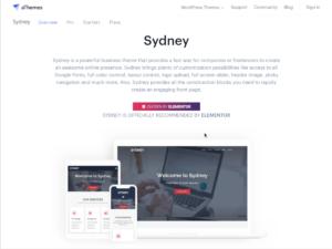 Free WordPress Business Theme – aThemes